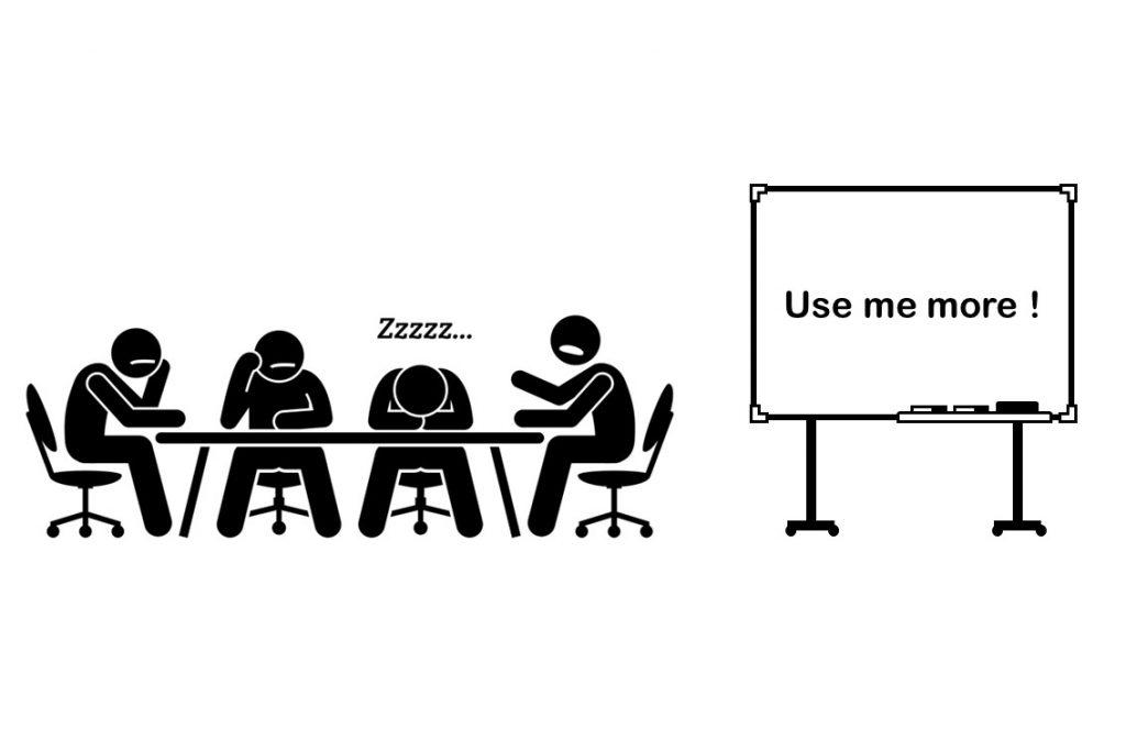 最近ホワイトボード使ってますか?板書で変わる営業会議